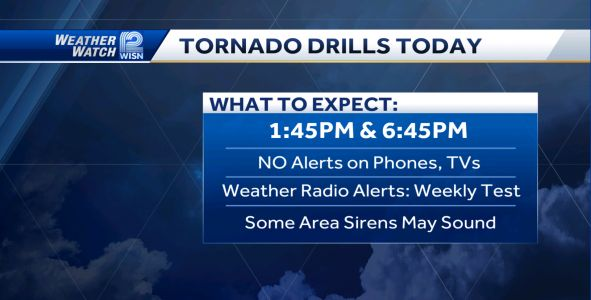 Severe Weather Awareness Week: Statewide tornado drills set for Thursday