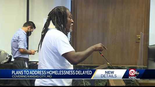 Kansas City homeless community, advocates frustrated by delayed city proposals