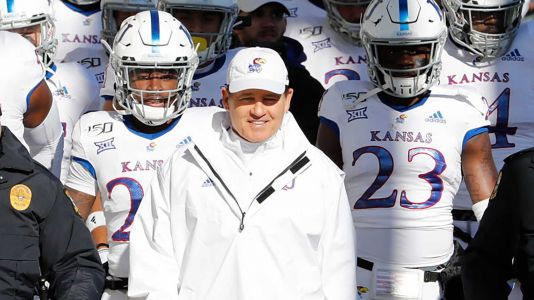 KU parts ways with football coach Les Miles after scathing Title IX report at former school