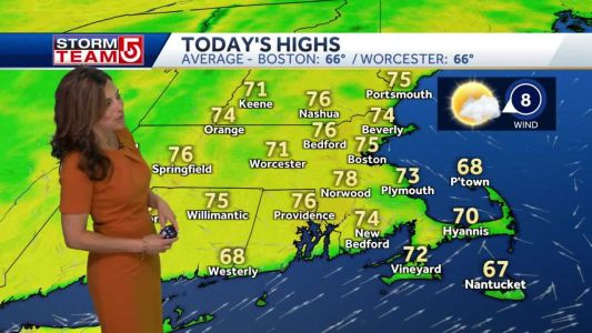Video: Gorgeous stretch of days in 70s