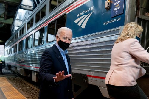 Republicans take aim at billions set aside in stimulus bill for infrastructure and transport projects, including Amtrak, BART, and a bridge to Canada