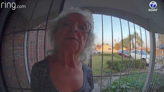 WATCH: Woman makes sure family knows it's taco night