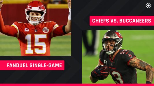 Super Bowl 55 FanDuel Picks: NFL DFS lineup advice for Chiefs-Buccaneers single-game tournaments