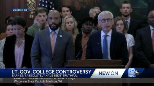 Gov. Tony Evers: Lt. gov has been 'truthful' about college career