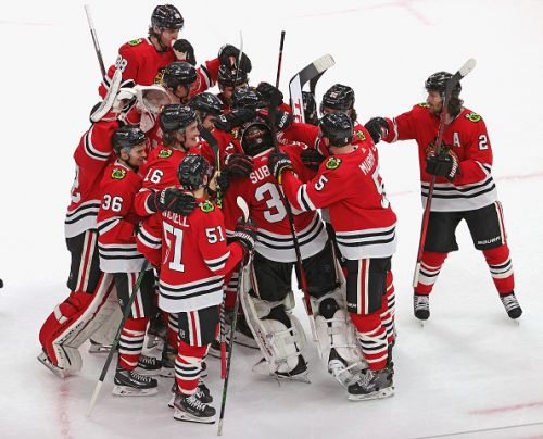 After an emotional 24 hours, the Blackhawks finally get a win against the Lightning in 2021