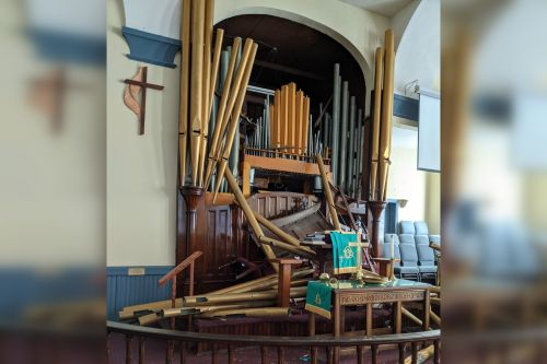 New Jersey church's decades-old organ destroyed by vandal
