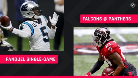 Thursday Night Football FanDuel Picks: NFL DFS lineup advice for Week 8 Panthers-Falcons single-game tournaments