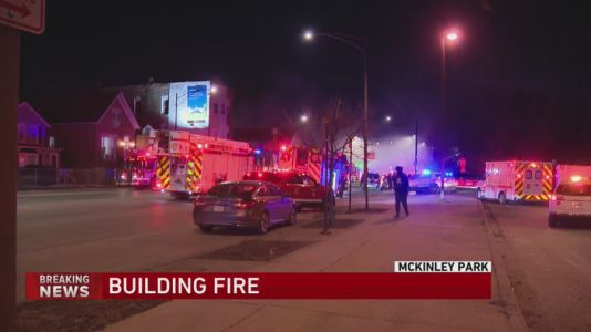 No injuries reported following fire at commercial and residential building on Southwest Side