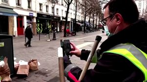 Watch Now: Garbage collector uses TikTok to keep Paris clean, and more of today's top videos