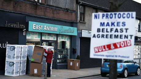 EU has no interest in Irish peace, says Northern Ireland's FM, as Europe threaten legal action against UK