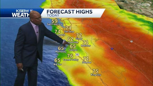 Widespread Cooling - Weekend Chance Drizzle and Light Showers