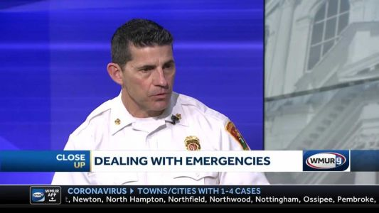CloseUp: First responders face COVID-19 dangers