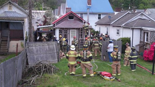 Home damaged by fire in Lower Burrell