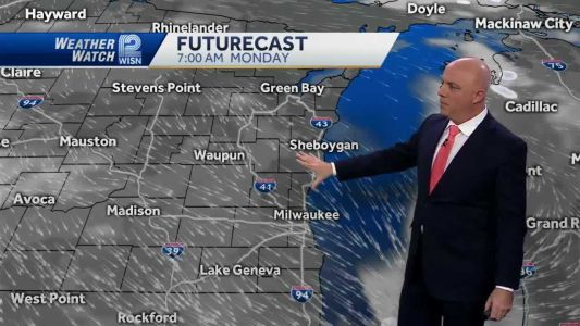 Videocast: Windy with a few flurries