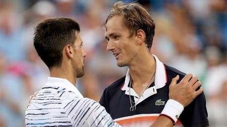 """He played amazing tennis"": Djokovic hails Medvedev after Russian blasts into Cincinnati final"