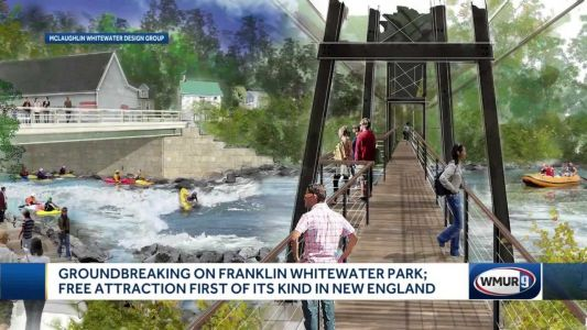 Franklin holds groundbreaking ceremony for whitewater park