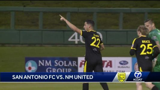 New Mexico United victorious in 'must-win' match