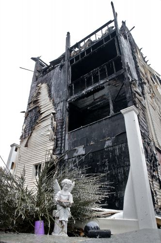 Revere firefighter injured in 3-alarm fire as department battled back-to-back blazes Saturday