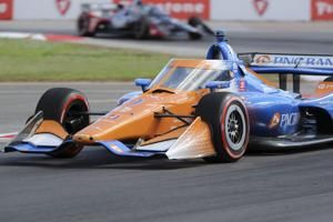 Newgarden wins IndyCar finale but can't deny Dixon 6th title
