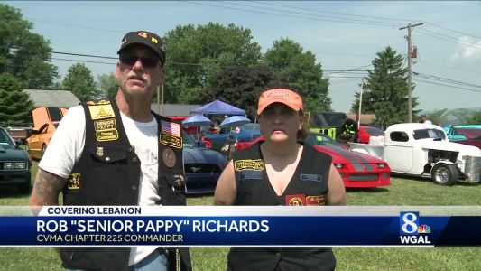 Car and bike show in Lebanon benefits veterans