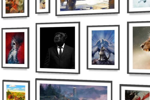 Blank walls got you down? Redecorate with affordable art