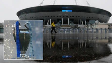Third time lucky? St Petersburg aims to avoid more Covid-19 misery after UEFA confirms it will host 2022 Champions League final