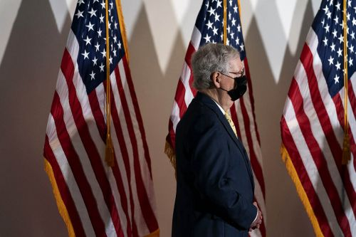 McConnell locks down key Republican votes for Supreme Court fight