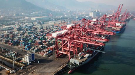 China's exports surge at record pace from coronavirus-battered levels