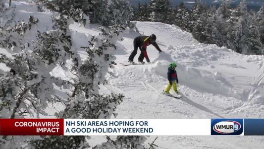 NH ski areas hope for good holiday weekend