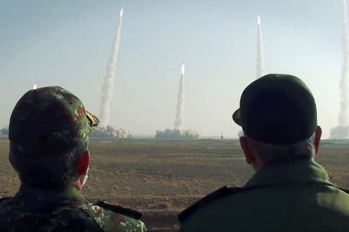 Iran tests ballistic missiles, drones in military exercise