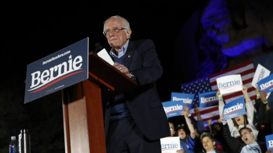 Sanders Projected To Win Nevada Caucuses, Solidifying Status As Front-Runner