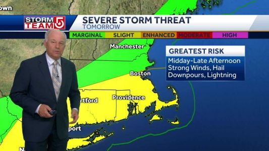 Video: Storm threat Wednesday; Poor air quality from wildfires