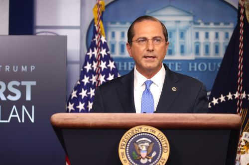 Azar says states will decide who gets first Covid-19 shots