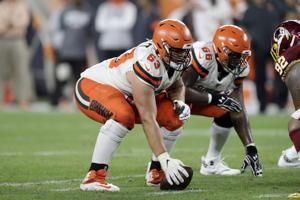 Browns trade C Austin Corbett to Rams for fifth-round pick