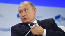 Putin Hails Sunset of U.S. Global Domination Due To Mounting 'Mistakes'
