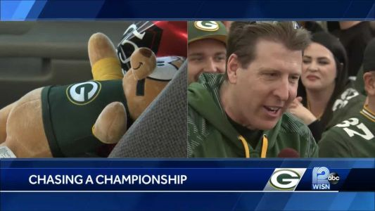 Packers fan drives more than 2,000 miles to get to NFC Championship