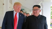 Trump Says Russia Will Help With North Korea Denuclearization