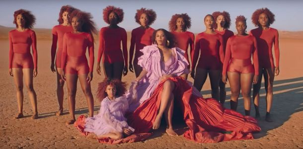 Blue Ivy shares the spotlight with mom Beyoncé in her new music video for the 'Lion King' remake