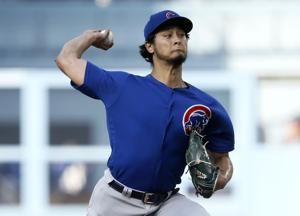 Rizzo's 2-run HR in 9th lifts Cubs over Dodgers 2-1