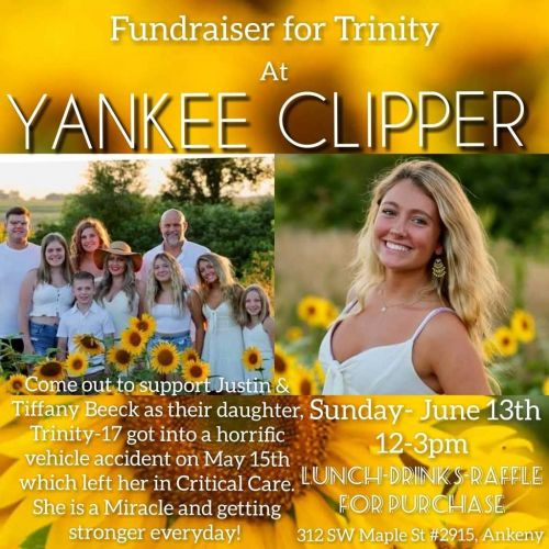 Community's donations raises funds for teen's recovery expenses after car crash
