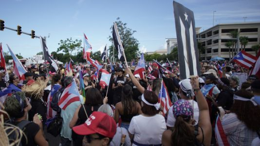 Thousands In Puerto Rico Seek To Oust Rosselló In Massive 'Ricky Renuncia' March