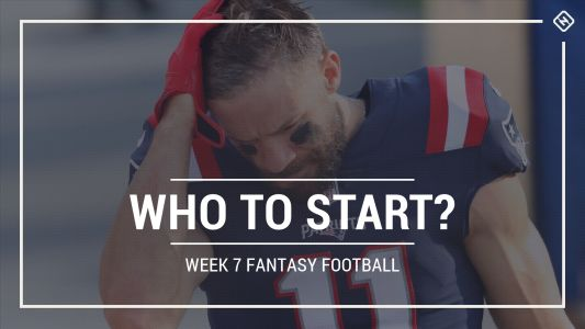 Who to start in fantasy football: Week 7 rankings, start-sit advice for PPR, Standard, Superflex scoring