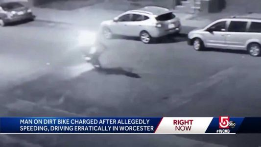 Dirt biker facing slew of charges after speeding through city