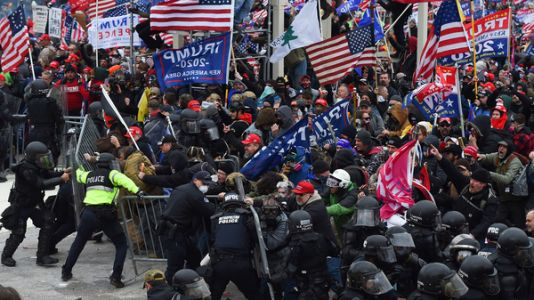 Police Officers Across Nation Face Federal Charges For Involvement In Capitol Riots