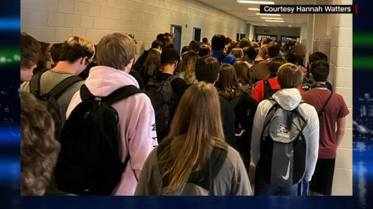 Georgia student suspended after posting photo of crowded hall