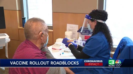 'Hold tight. It's coming soon': Californians wait to get COVID-19 vaccination