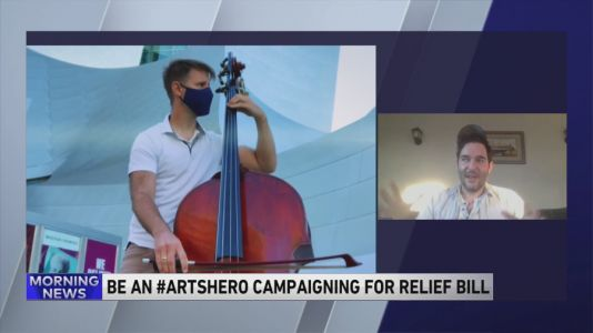 Be An Arts Hero campaign pushing for relief bill amid pandemic