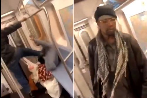Cops bust suspect seen kicking elderly woman in the head on subway