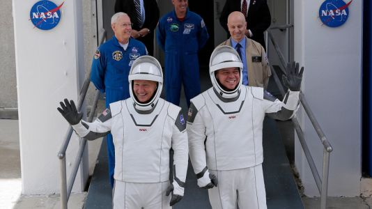 SpaceX, NASA are 'Go for Launch', weather permitting