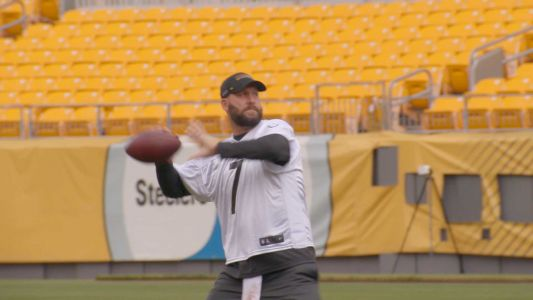 WATCH: Steelers share first video of Ben Roethlisberger throwing at training camp